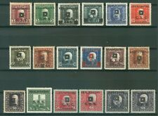 YUGOSLAVIA SHS 1919 - ISSUE FOR BOSNIA AND HERZEGOVINA FRANZ JOSEPH MI. 33/50 MH