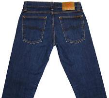 Women's NUDIE Tight Long John Skinny Slim Leg Stretch Jeans  W26 L32