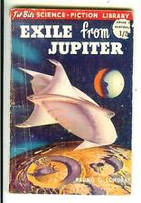 EXILE FROM JUPITER by Condray, British Tit Bits sci-fi digest pulp vintage pb