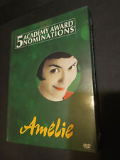 Amelie (Dvd, 2002, 2-Disc Set, Special Edition) *Brand New*