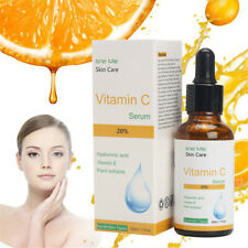 100% PURE VITAMIN C + HYALURONIC ACID - SMOOTHING FACE SERUM Anti Aging
