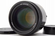 【AB- Exc】 Nikon AF NIKKOR 85mm f/1.8 D Lens for F Mount w/Caps From JAPAN #3107