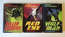 Lot 3 Animal Investigators Series_S. P. Gates_Killer Spiders, Red Eye, Wolf Man