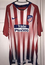 Atletico Madrid Home Shirt 2018-2019 XL With Griezmann 7 Print