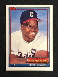 1990 Topps Major League Debut #153 Frank Thomas Chicago White Sox RC HOF MINT