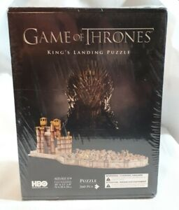 Game of Thrones HBO Puzzle of King's Landing 3D Puzzle 260 Pieces Factory Sealed