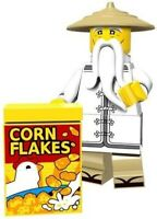 Ninjago Master Wu Sensei Corn Flakes Master of Spinjitzu Custom Lego Mini Figure