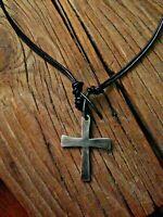 Coptic Cross Necklace * Hand Sculpted * Sundance Artist * Mixed Metals $145