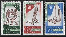 CAMEROUN 1968 Olympics set SG 506-508 MH/*