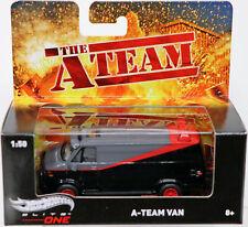 Hot Wheels la un equipo van Elite uno serie #BLY17 nuevo nunca quitado de la caja gris/rojo/negro 1:50