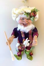 Mark Roberts Easter Egg Elf, Limited Edition 5 of 250, vibrant and collectible