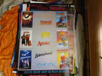 1980SVIDEO SHOP PROMOTION POSTER AUG SEPTEMBER  FAMILY MOVIES 1 SHEET  POSTER