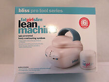 BLISS FAT GIRL SLIM LEAN MACHINE + 2 oz. SKIN FIRMING CREAM TREAT CELLULITE NIB