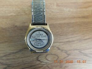 Hamilton men's presentation wrist watch, 1986 Lowes, model 8640