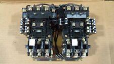 Allen Bradley 520f Bod 2 Speed Size 1 Motor Starter 25hp 600v 45 Amp 120v Coil