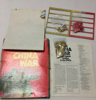 Spi The China War 1970's Strategy Game Incomplete  Torn Map