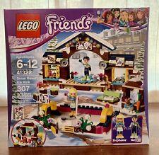 LEGO Friends Snow Resort Ice Rink (41322) New Sealed Winter Building Set