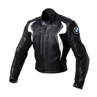 BMW MOTORCYCLE JACKET MENS RACING MOTORBIKE JACKET LEATHER CE ARMOUR BIKER STYLE