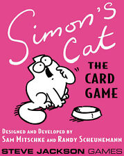 Simon's Cat: PRESALE card game Steve Jackson New