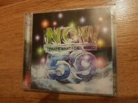 Various Artists : Now That's What I Call Music! 59 CD 2 discs (2004)