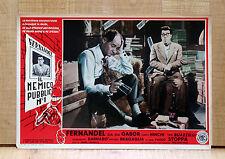 IL NEMICO PUBBLICO N°1 fotobusta poster affiche L'ennemi public Fernandel I95
