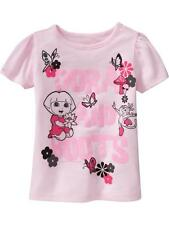 NWT 12-18 MON. DORA THE EXPLORER BOOTS T SHIRT SPARKLY PINK TOP OLD NAVY GIRLS