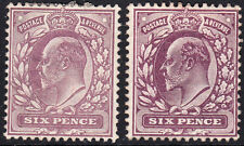 SG 245a Dull Purple/Slate Purple (OCP) M32 (-) pair in mint no gum condition.