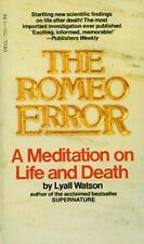 Romeo Error Scientific Support Reincarnation Astral Possession Psychic Surgery
