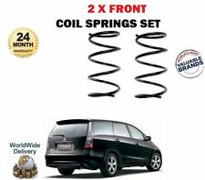 FOR MITSUBISHI GRANDIS 2.0DT DiD 2005-2010 NEW 2 X FRONT COIL SPRING SET