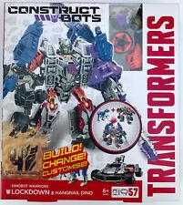Transformers Construct-Bots Dinobot Warriors Lockdown and Hangnail Dino