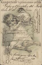 PARAGUAY REVOLUCION 1904 FIRMADA JEFES Y OFICIALES DEL BATALLON 3 DE INFANTERIA