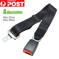 21mm Car Vehicle Safety Seat Belt Seatbelt Extension Extender Strap Safe Buckle