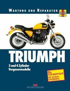 Reparaturhandbuch Triumph Trident, Trophy, Speed Triple, Tiger, Daytona 91-99