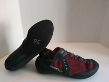 Boreal Fusion S-2 Climbing Shoes Uk Size 7.5 Us Mens 8.5 Eur 40.5 Made In Spain