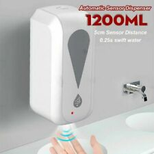 Automatic Touchless Alcohol Spray Machine Smart Soap Dispenser 1200ML Wall Mount