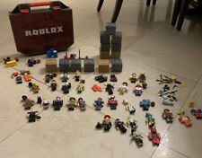 HUGE Roblox Toy Lot!! Characters + Builderman + Lots Of Accessories + Case