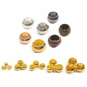 Ball Crimps End Beads Ball Stopper Spacer Beads For Jewelry Making Findings 500x