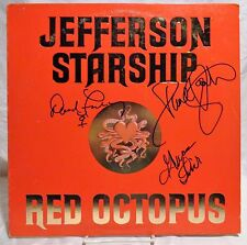 Jefferson Starship Paul Kantner +2 group Signed Autographed Album A