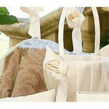 Ivy Lane Design A01075Fb/Ivo Calla Lily Flower Girl Basket - Ivory