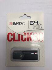 EMTEC 64 GB Flash Drive CLICK 3.0