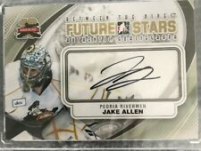 2011-12 Between The Pipes Autographs #AJA  AU Jake Allen
