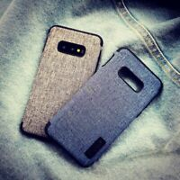 Für Samsung Galaxy S10 S10e S10+ Jeans Schutzhülle Case Cover TPU Silikon Schale