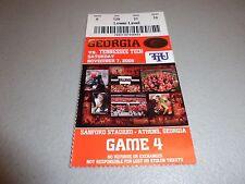 Tennessee Tech Eagles vs Georgia Bulldogs 11-7-2009 Football Game Ticket Stub
