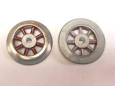SL-95 Plain Red Spoke Wheel for Lionel Prewar Std lead & trailing trucks, 2 Pcs