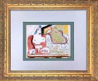 Le CORBUSIER Lithograph in Color ORIGINAL SIGN Ltd. Ed. +w/Archival Frame