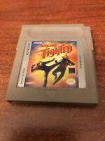 Raging Fighter (Nintendo Game Boy, 1993) Working Game Only