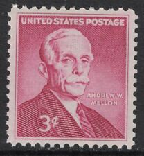 Scott 1072- Andrew Mellon, Financier- 3c MNH 1955- unused mint stamp