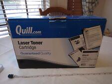 Quill Laser toner ink cartridge Black Samsung CLP-K660B CS 132642 7-9815B NOS