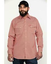 Ariat Men's Fr Olmeca Geo Print Snap Long Sleeve Work Shirt - 10027882