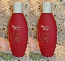 LOT~ Roses and More Priscilla Presley ~ Perfumed Body Lotion 6.7 oz /200ml EACH